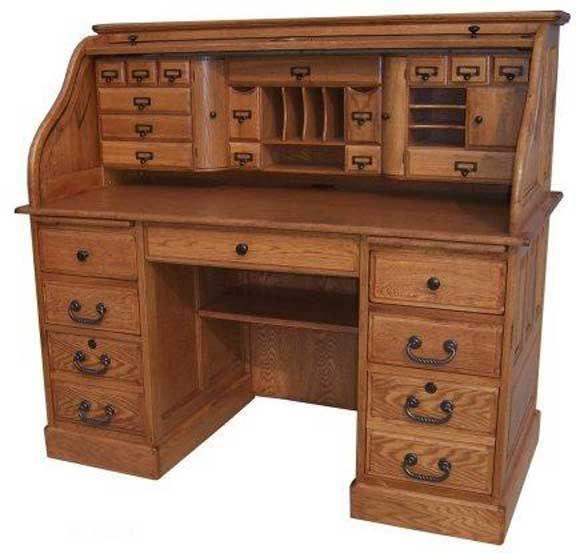 Deluxe Roll Top Desk Roll Top Desk Desk Old School Desks