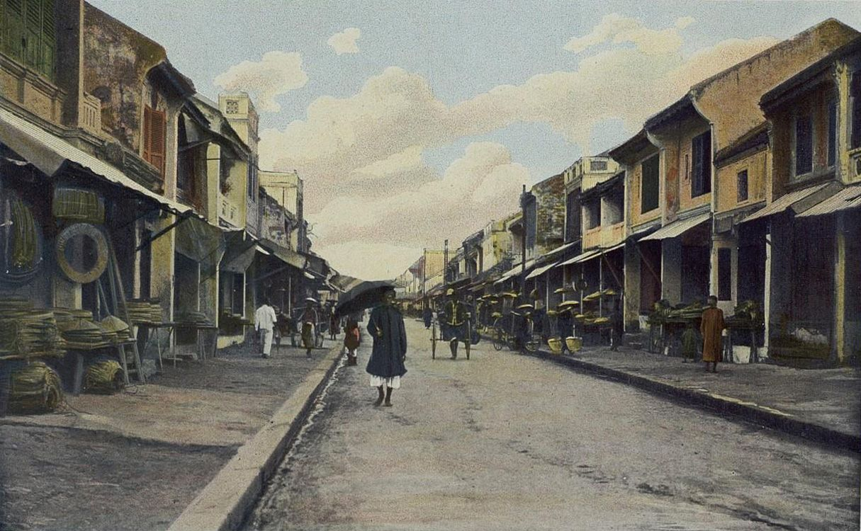 Hanoi Altstadt 1903 - #AsiaticaReisen