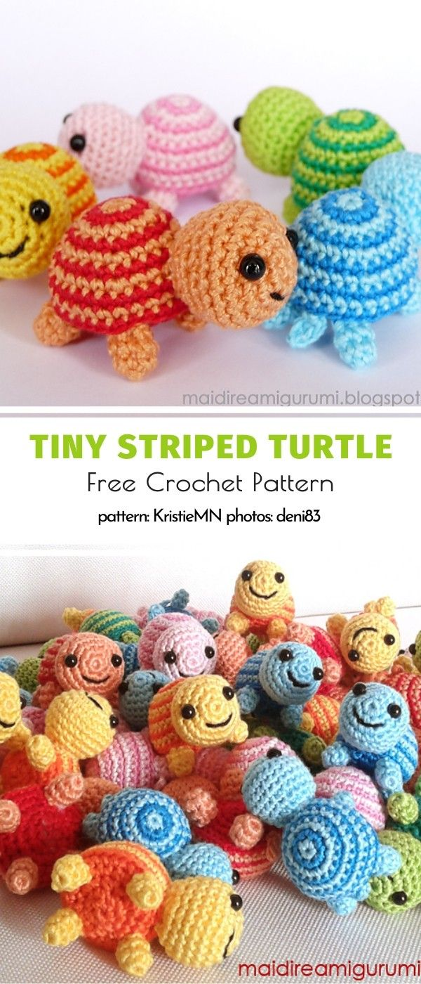 Little Turtles Free Crochet Patterns