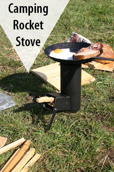 Efficient and light, this rocket stove cooks delicious meals under the stars.