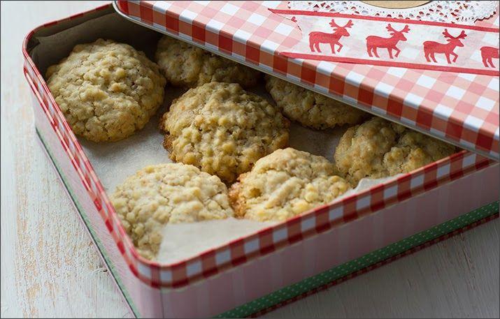 Geschenke aus der Küche Haferflocken-Mandel-Kekse - die schmecken - geschenke aus der küche weihnachten