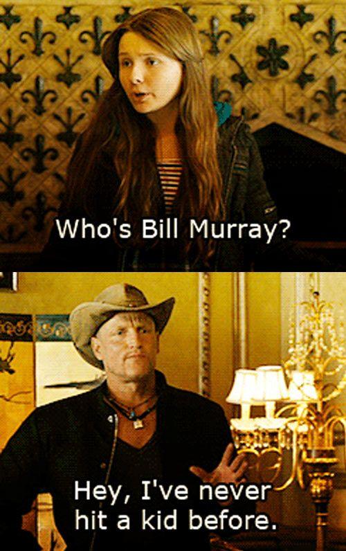 "La mejor escena de la peli. ""Enjoy the little things"" Who's Bill Murray? From the cult classic movie, Zombieland"