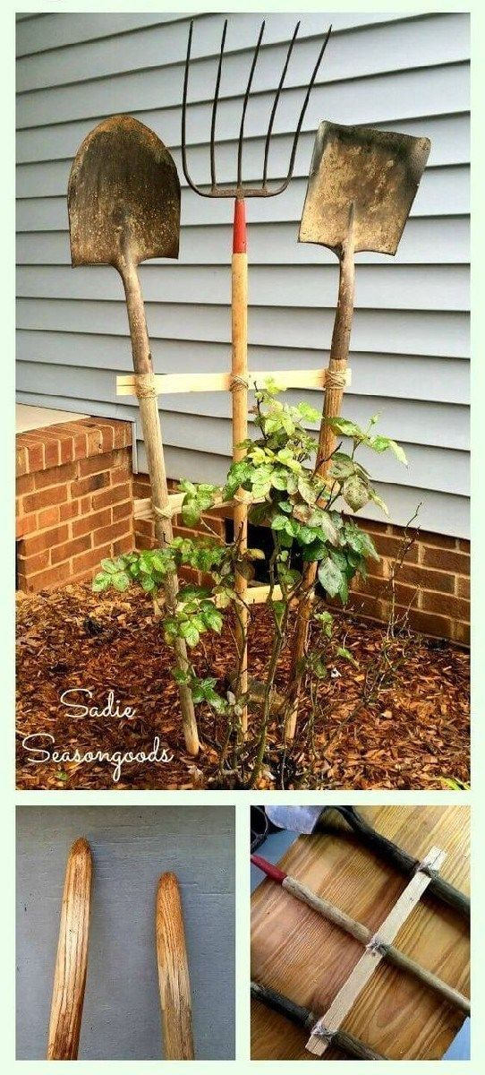 Most Brilliant Garden Junk Repurposed Ideas (25) #gardeningtools