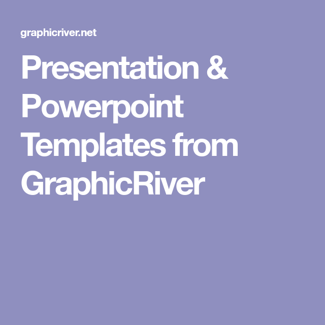 presentation & powerpoint templates from graphicriver, Powerpoint templates