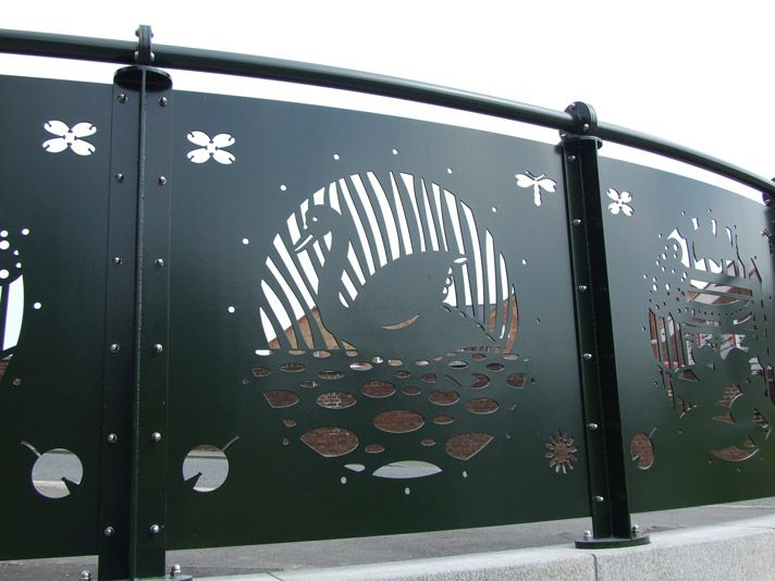 Lazar Cut Steel Railings Laser Cut Steel Panels Laser