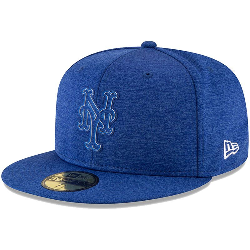 New York Mets New Era 2018 Clubhouse Collection 59fifty Fitted Hat Heather Royal Fitted Hats New York Mets New Era