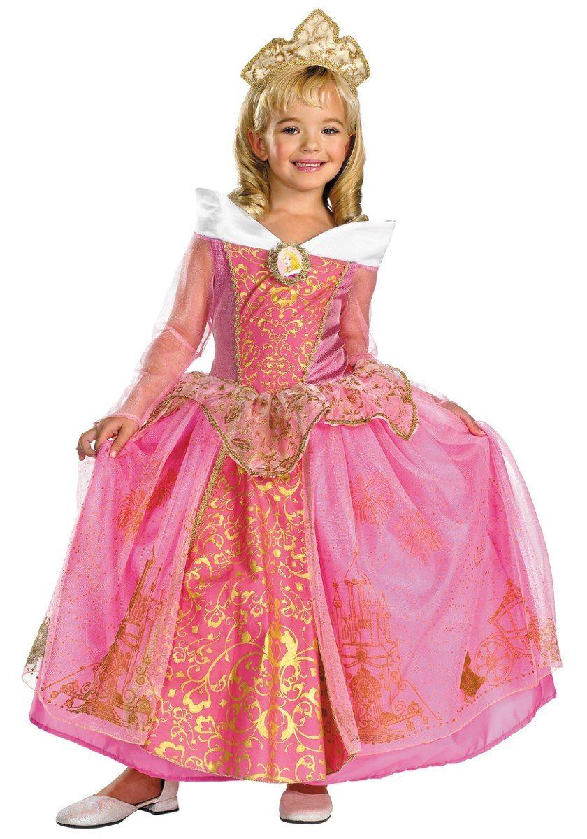 disfraz de princesa rosa con ribete dorado - Buscar con Google ...