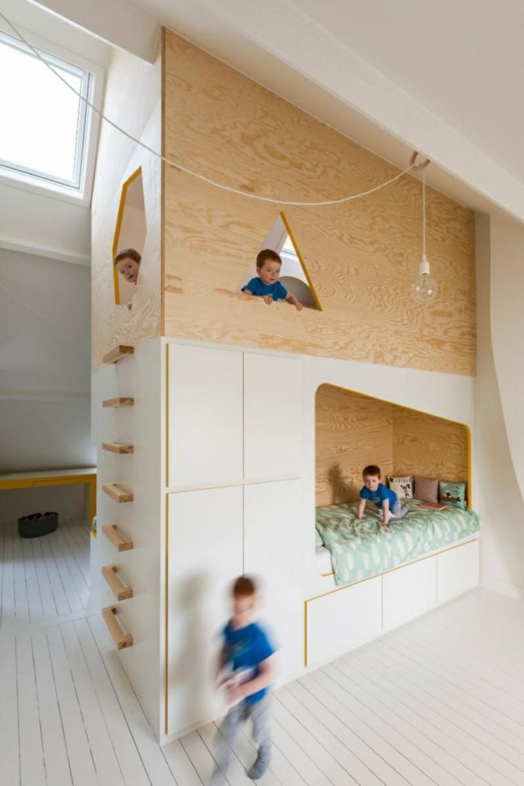 Kinderzimmer - funktionelle Idee von Van Staeyen Interior Architects ...