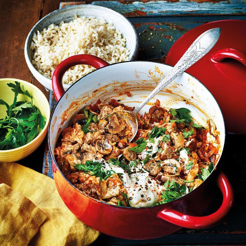 Mushroom Stroganoff Healthy Recipe Ww Australia Recipe In 2020 Healthy Meals For Two Mushroom Stroganoff Ww Recipes