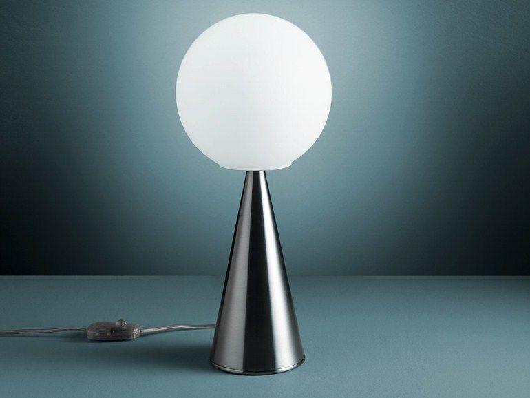 Lampada Da Tavolo Con Dimmer Bilia By Fontanaarte Design Gio Ponti Lampade Da Tavolo Design Della Lampada Design Del Prodotto