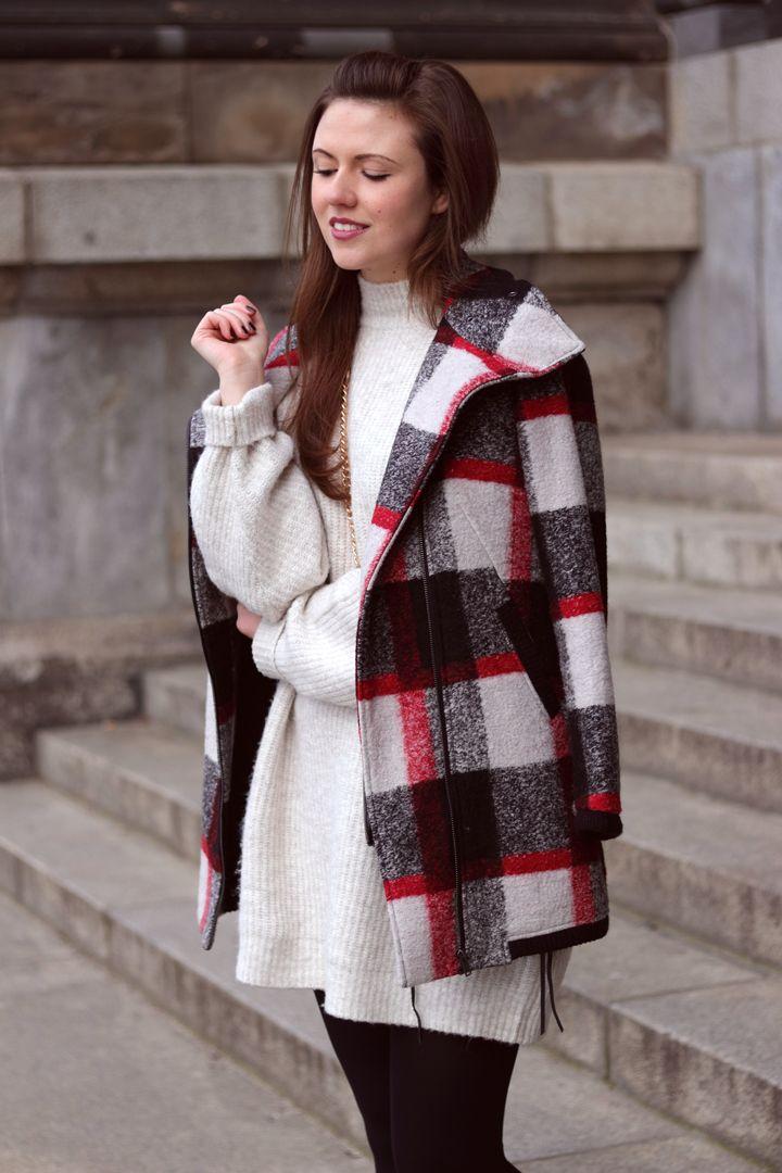 Winter strickkleid