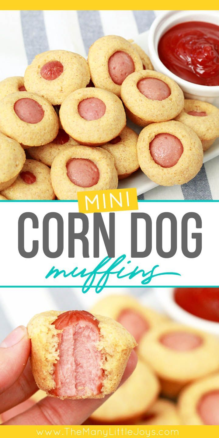 Corn dog muffins (kid-sized food is back!) images