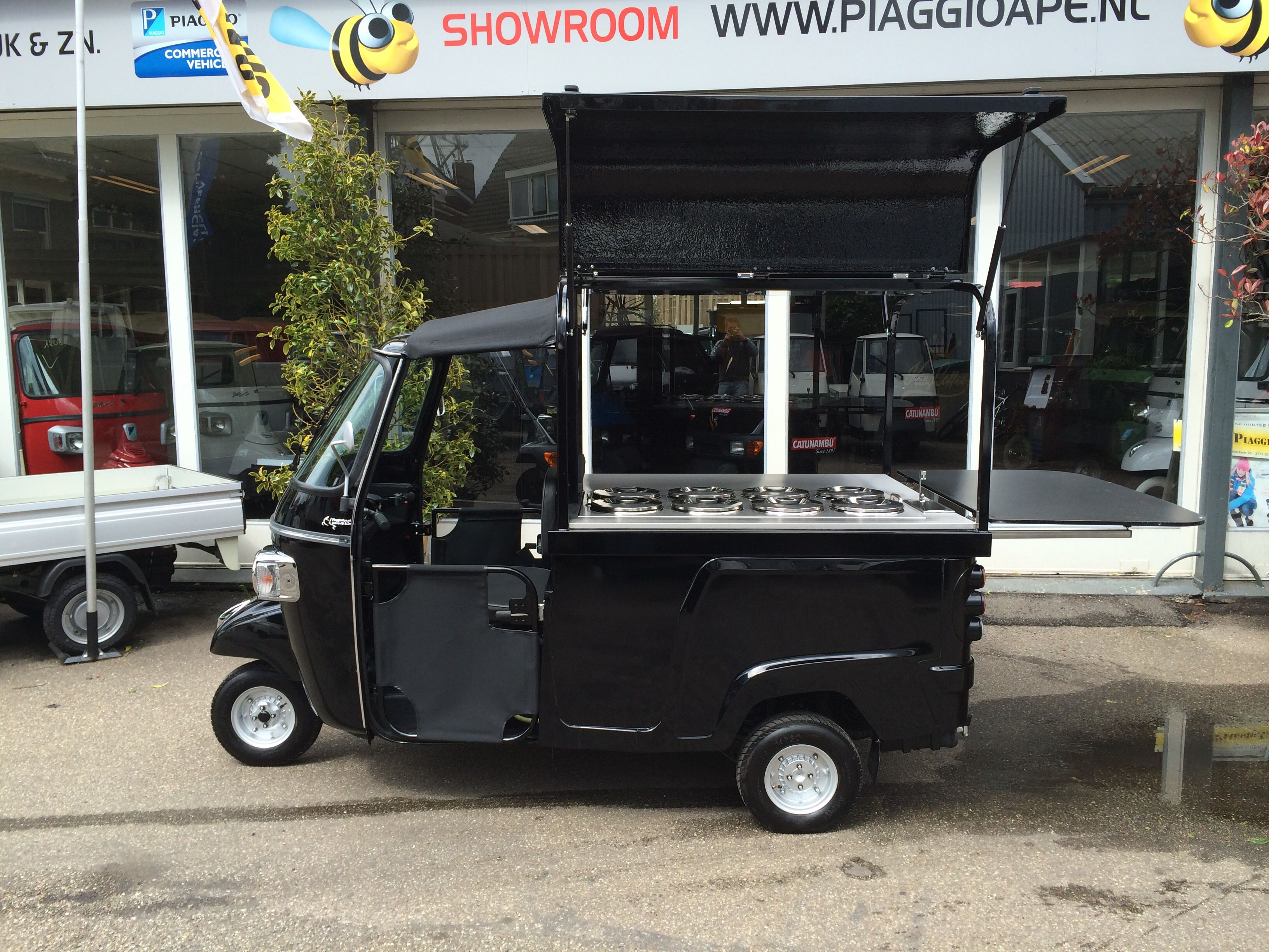 ape calessino 200 ijsco piaggio food vespa ape food. Black Bedroom Furniture Sets. Home Design Ideas