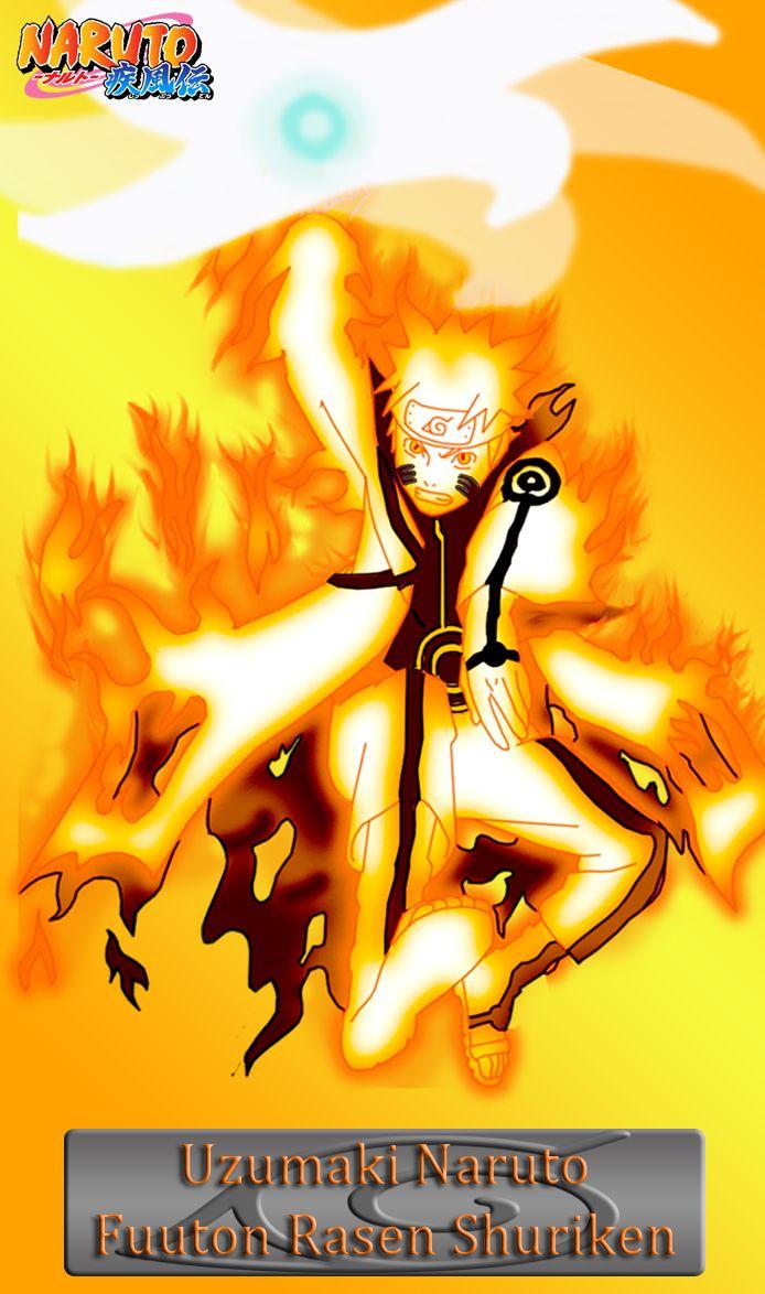Uzumaki Naruto Fuuton Rasen Shuriken N8 By Ng9 Tattoo Naruto