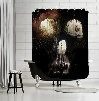 Americanflat Eye Catching Shower Curtains