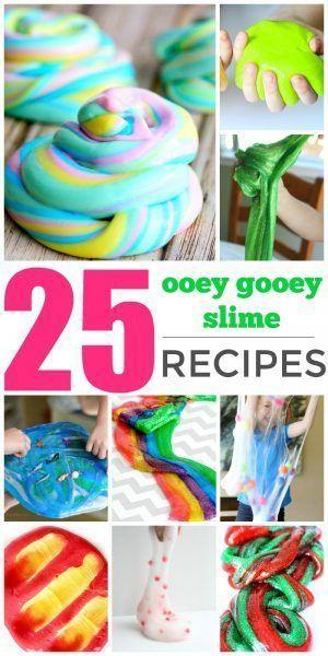 How to make gooey slime recipe fluffy