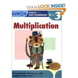 Grade 3 Multiplication Kumon Math Workbooks Kumon Publishing 9781933241548 Amazon Com Books Kumon Math Math Workbook Kumon Kumon math worksheets for grade 3