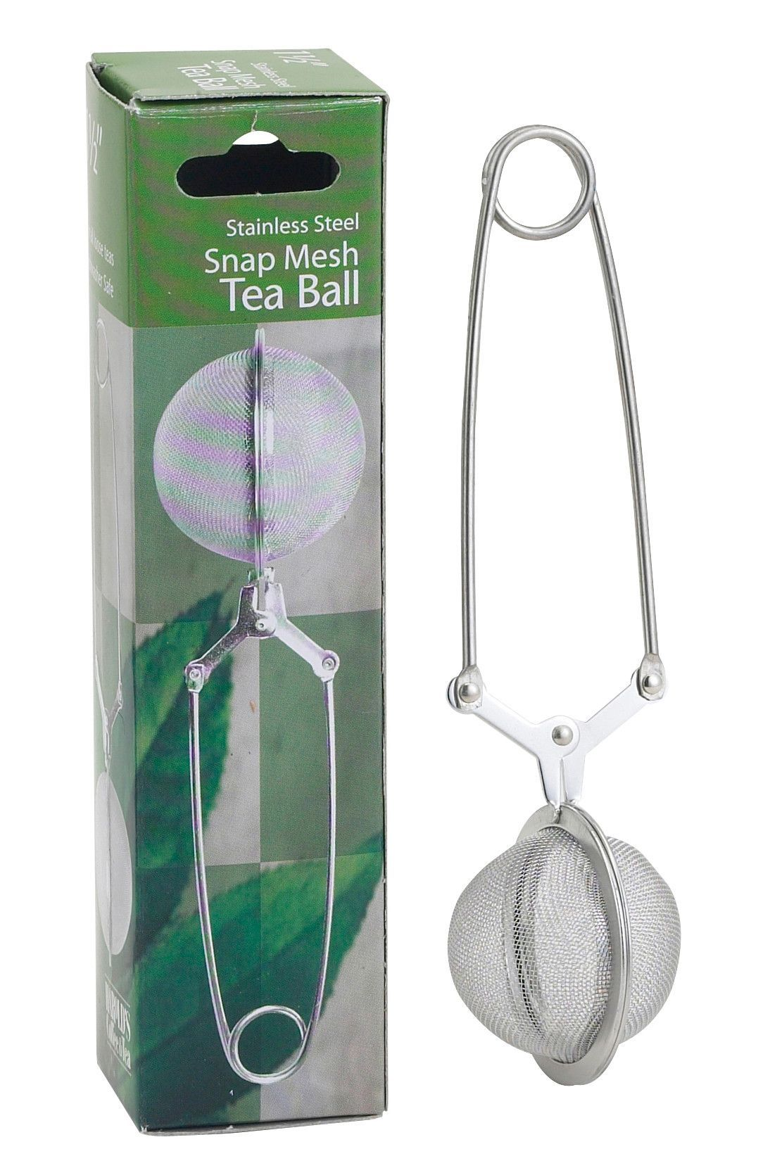 Tea Ball, Snap Mesh Infuser Tea infuser, Tea strainer, Tea