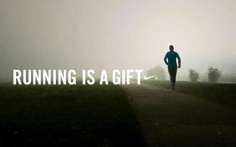Running Is A Gift!