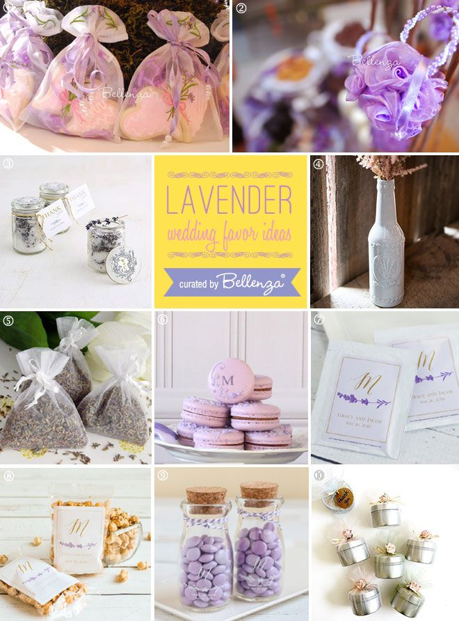 lavender bridal shower favor ideas from scented to edible ideas from bellenza