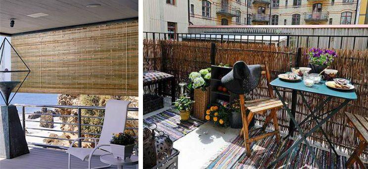 Intimité sur le balcon 10 idées Les idées de ma maison Photo - Combien Coute Une Extension De Maison