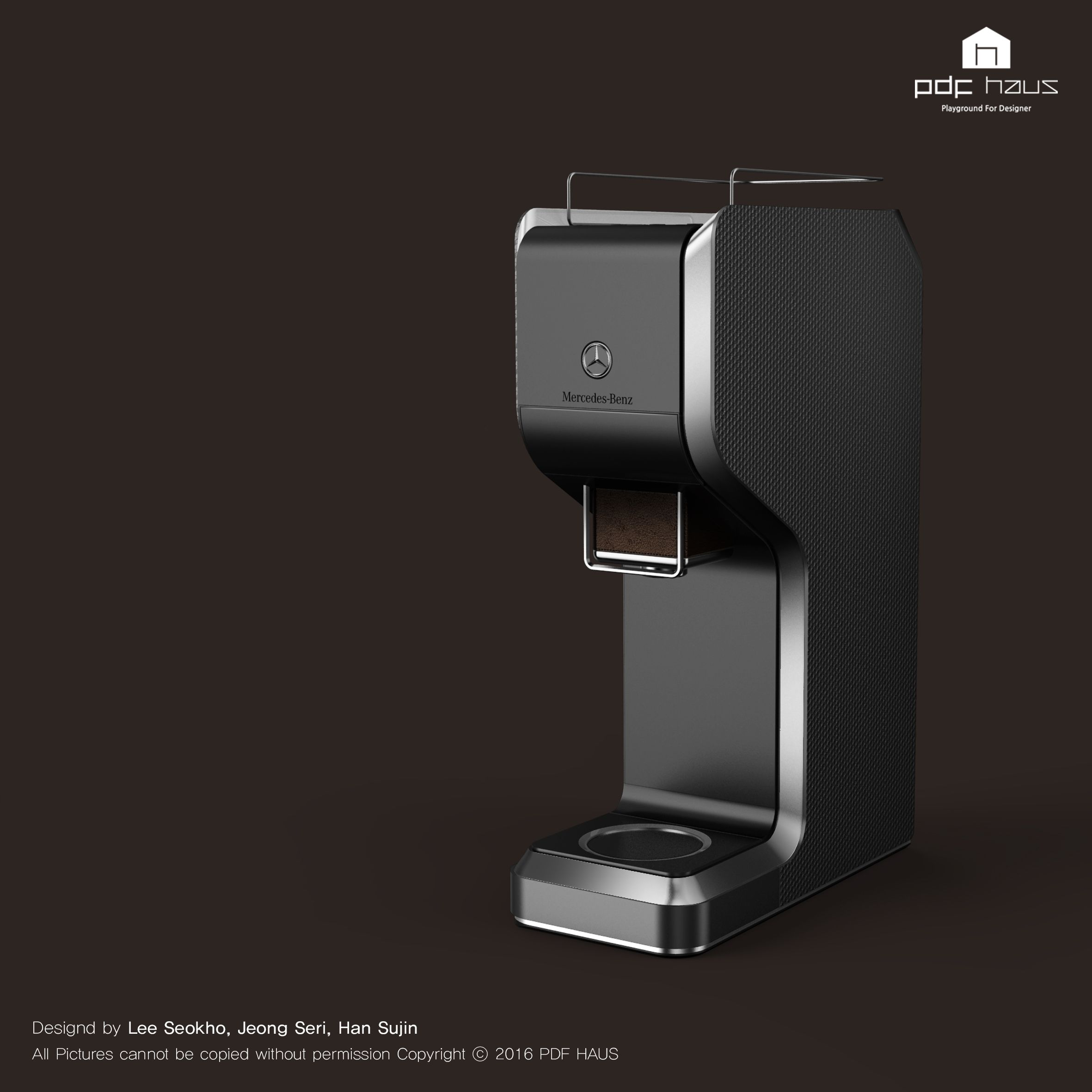 Ipad 2010 work red dot award product design - Benz Coffee Machine Product Design Industrial Design