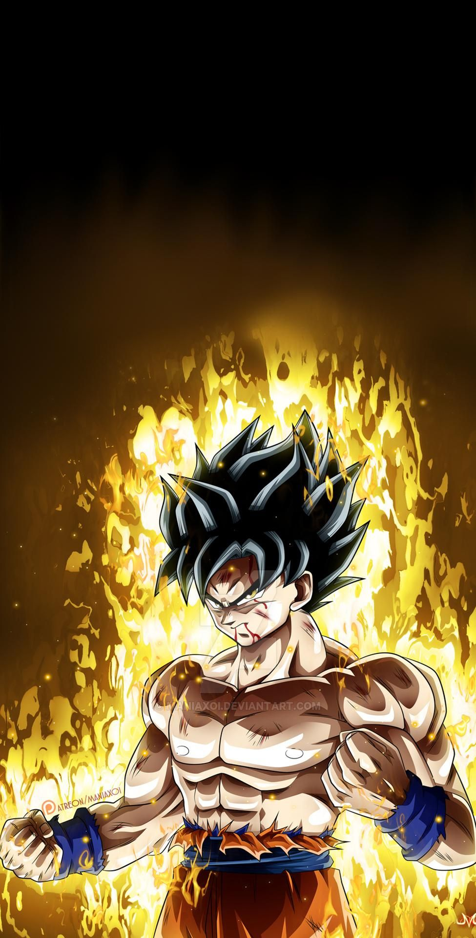 Goku Ultra Instinct 975x1920 Live Wallpaper In Comments Goku