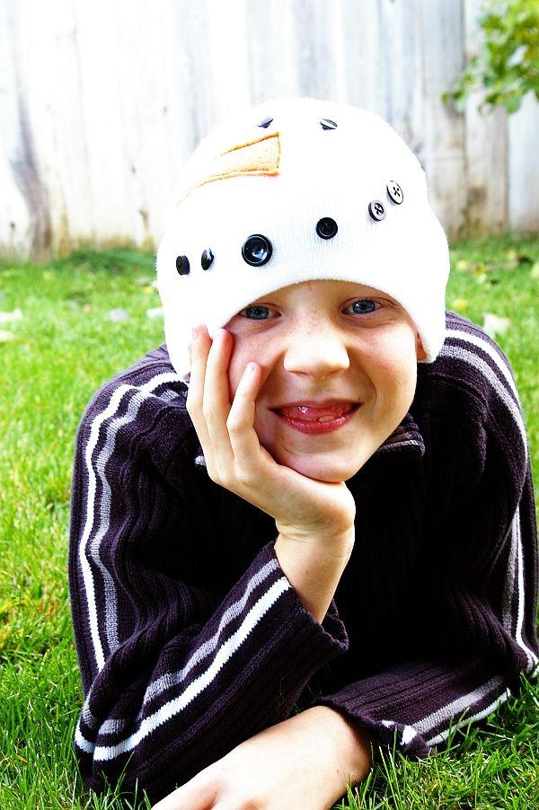 c9515979504 Kids snowman winter hat