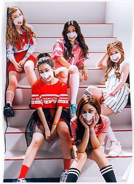 Red Velvet Dumb Dumb Poster By Redvelemporium In 2019 Red