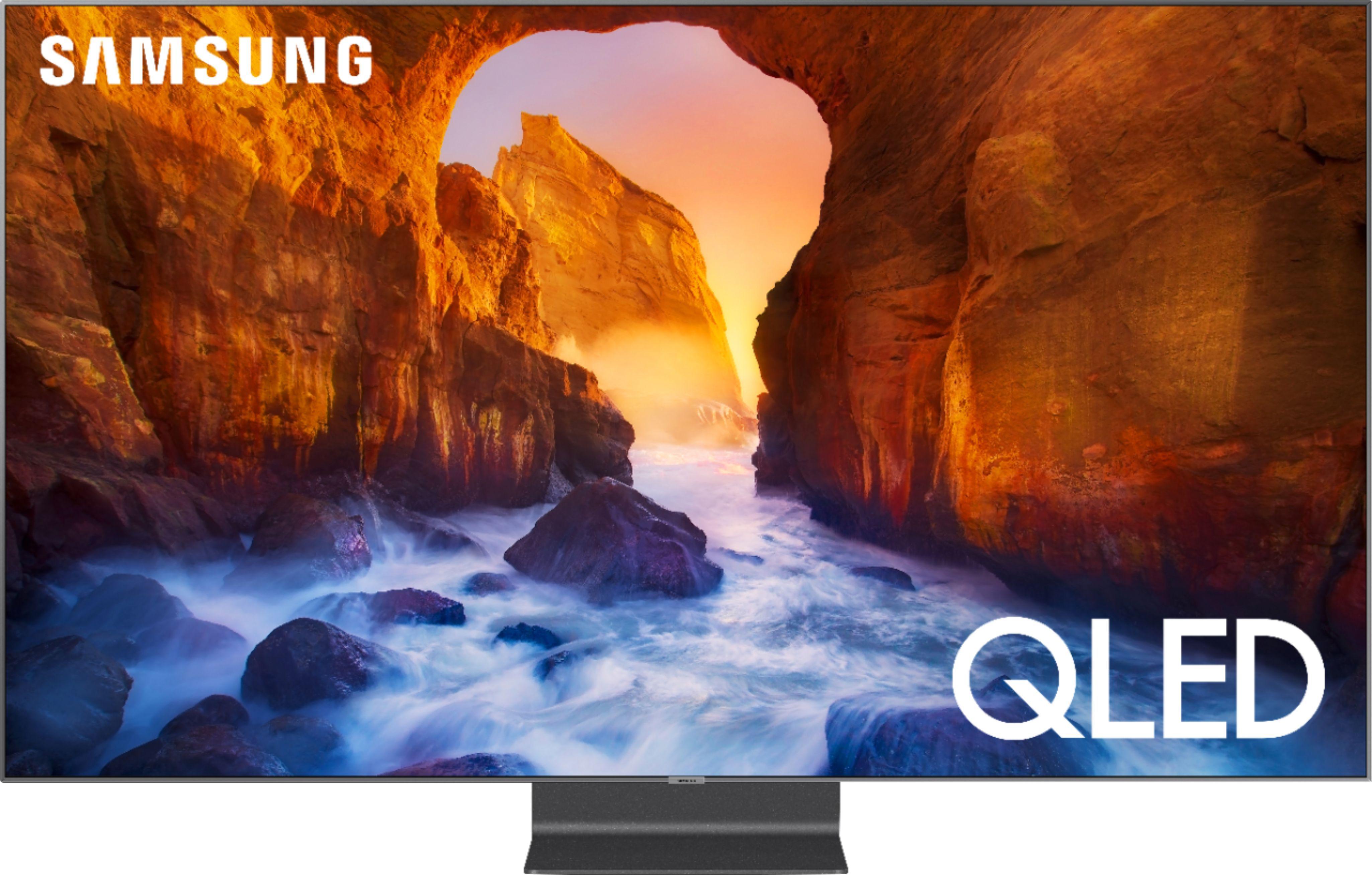 Samsung 82 Class Q90 Series Qled 4k Uhd Smart Tizen Tv Qn82q90rafxza Best Buy In 2020 Uhd Tv Smart Tv Samsung Smart Tv