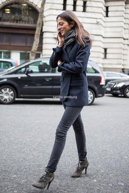 Capucine Safyurtlu ... parisians always wear neutrals ...