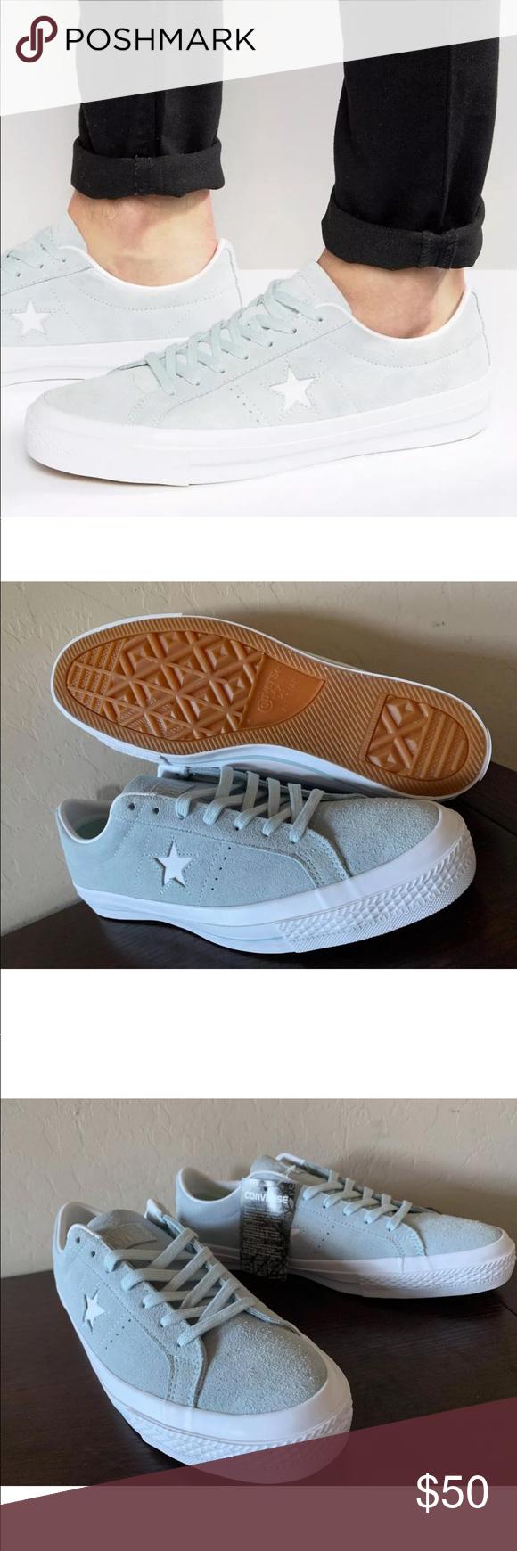 9ca8e43f811b Men s Converse One Star Suede Lunarlon Shoes NWT