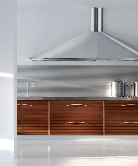 The Solaro Modern Walnut Kitchen By Schiffini In Walnut