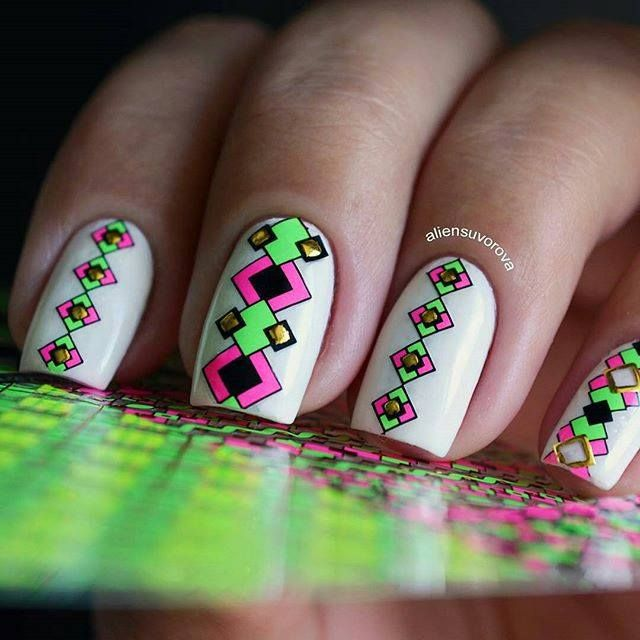 60 Nice Easy Nail Art Designs 2016