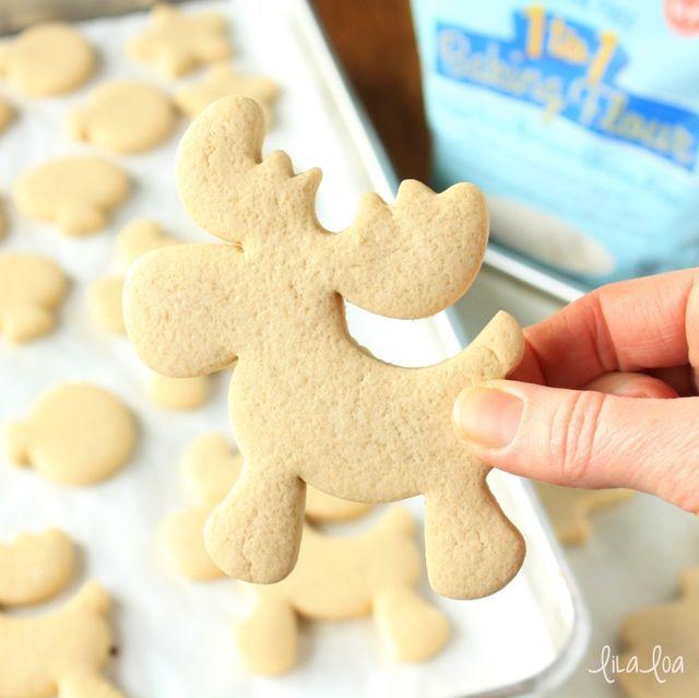 Gluten Free Vanilla Sugar Cookies Recipe - No Spread and No Chill!!