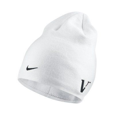 d9df4ebd NEW Nike Tour Knit 20XI Vr WHITE Winter Beanie Toboggan Hat/Cap by Nike.