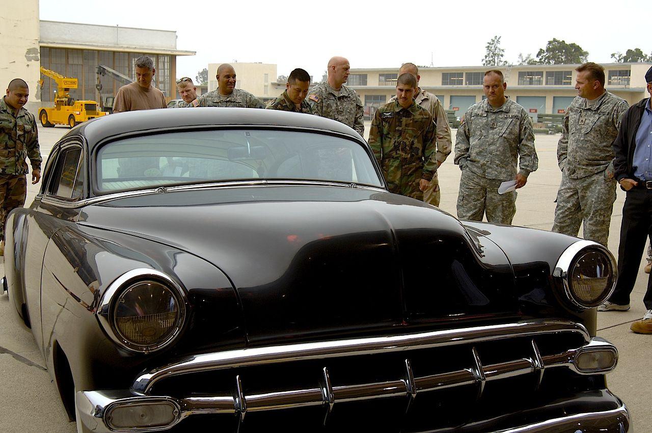 1955 dodge royal lancer convertible cream black fvr cars - Jesse James 54 Chevy