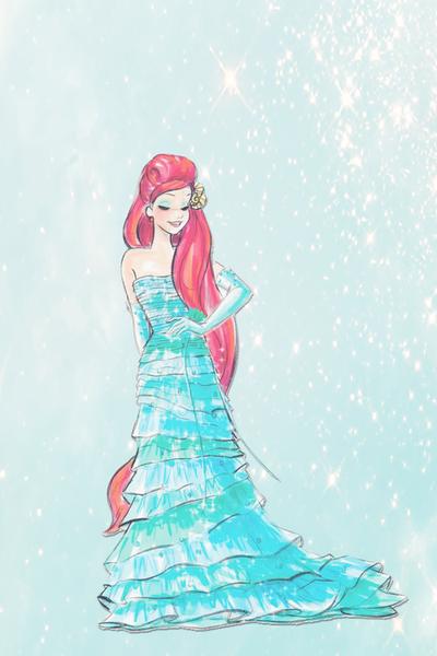 Come fly with me into a fantasy Disney princess fashion