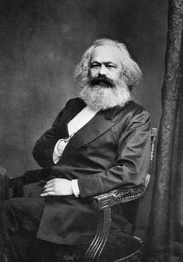 """Karl Marx - """"Workers of the world unite; you have nothing to lose but your chains."""""""