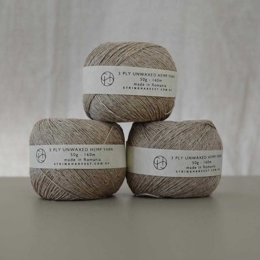 String Harvest | Natural fibre craft supplies.