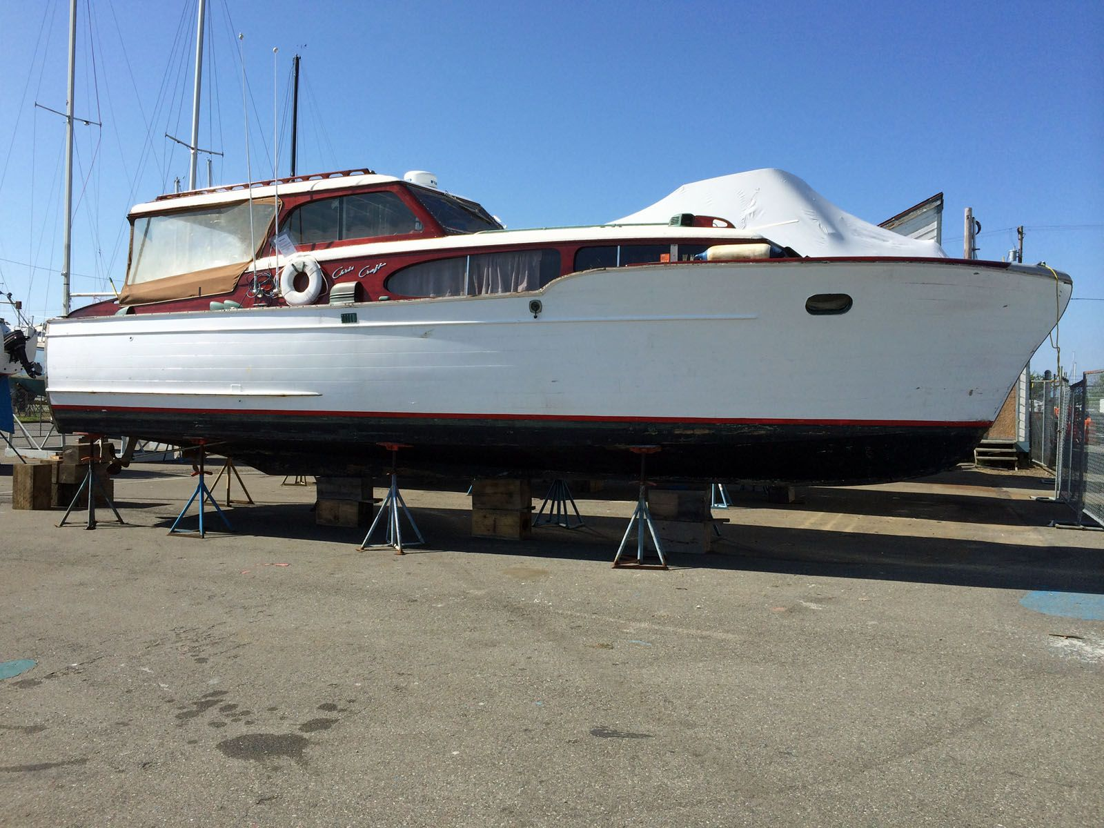 1951 Chris Craft Commander 34' | Chris Craft Motor Yachts