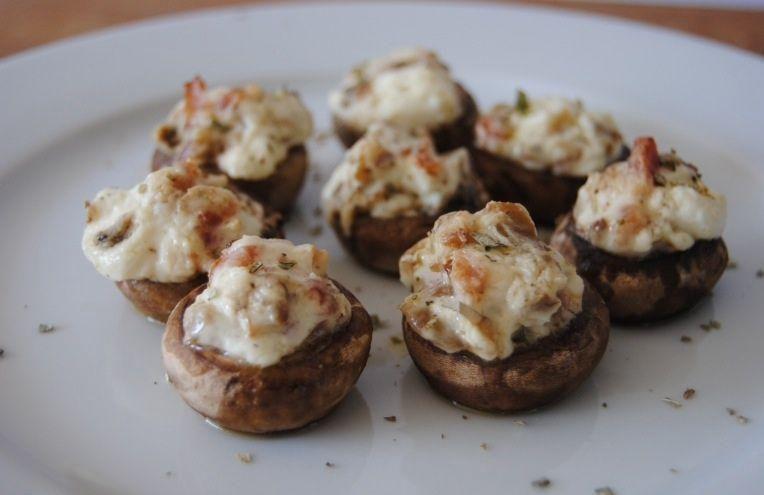 Champiñones Rellenos De Philadelphia   Cocinar En Casa Es Facilisimo.com