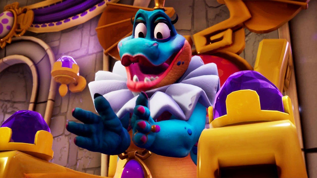 Spyro Reignited Trilogy Sorceress Cutscene Check out a new