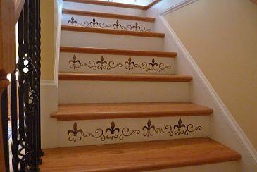 Me decidí a hacer sólo cada dos pasos.  Usé dos colores y se puede ver el tut en mi casa.