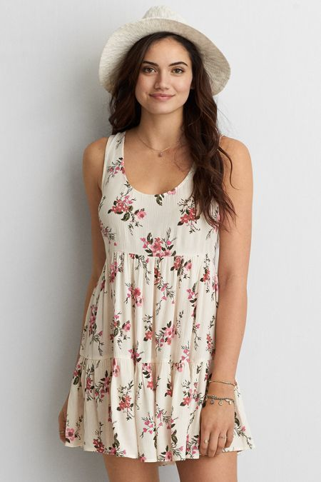 45e5c49cf015d8 American Eagle Outfitters AEO Tiered Babydoll Dress | T hr e a d s ...