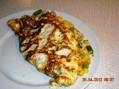 En verden af smag!: Reste-omelet