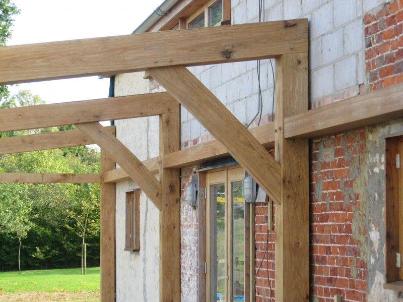 Oak Frame Extension | sun room | Pinterest | Oak framed extensions ...