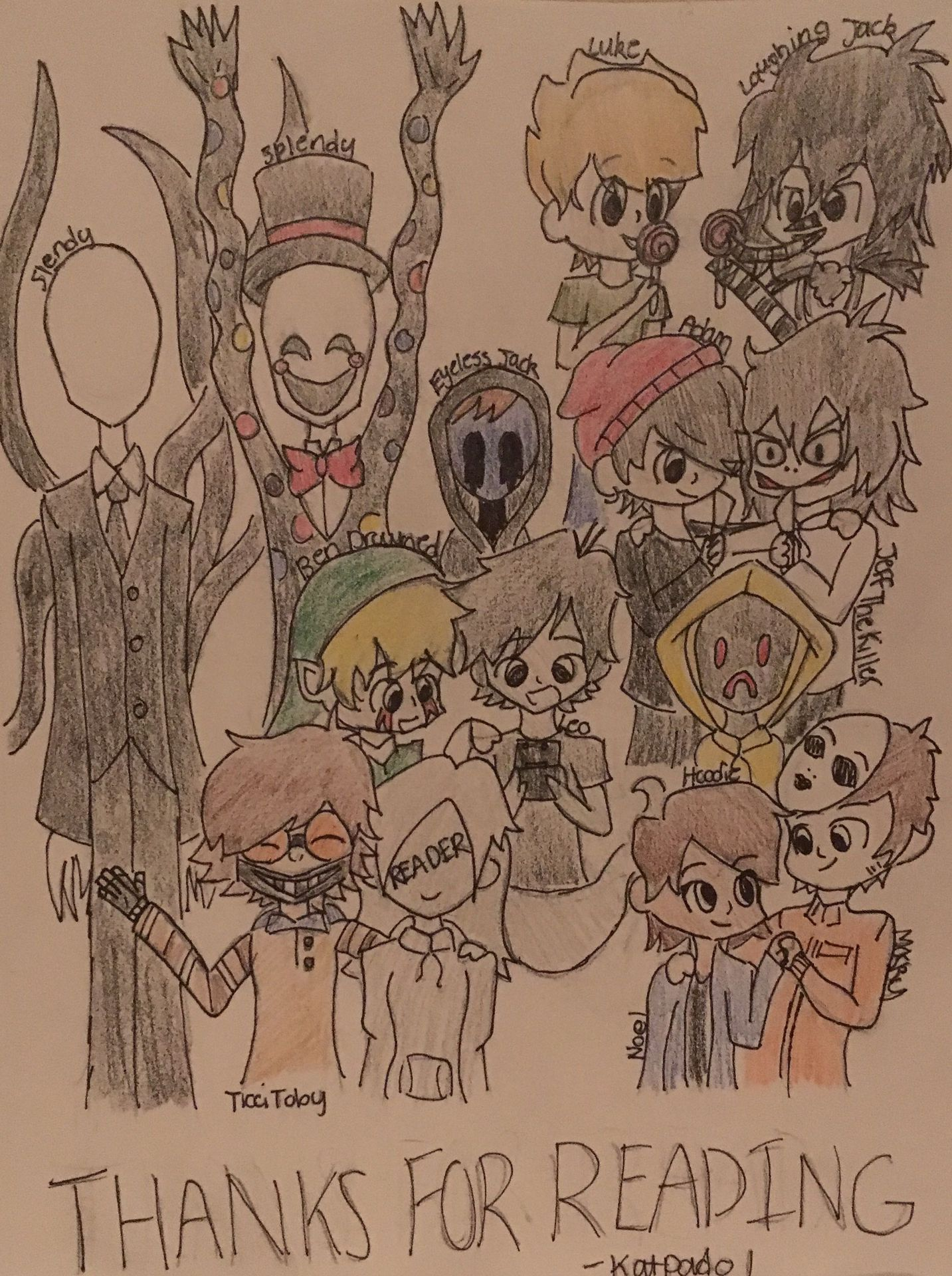 Camp Creepypasta (Ticci Toby x Reader) - Chapter 30: This Is Your