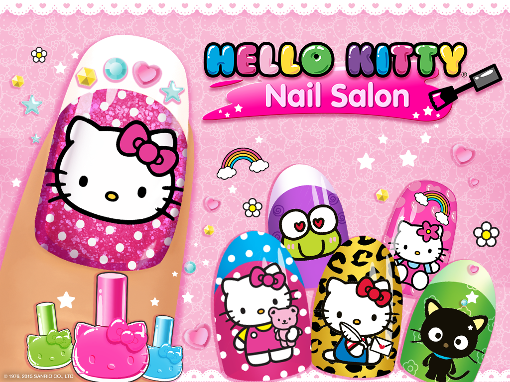 Hello Kitty Nail Salon Android Apps On Google Play Crafts For