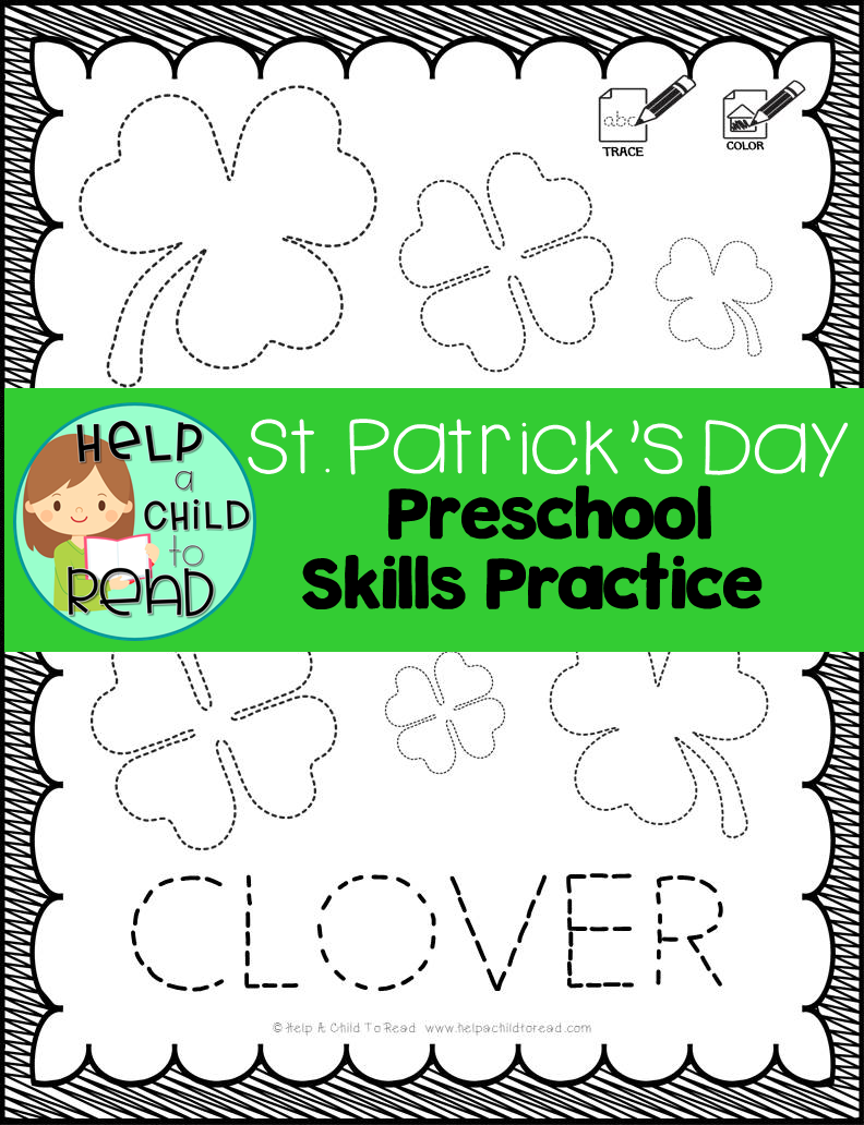 St. Patrick\'s Day Preschool Skills Pages | Scissor skills, Teacher ...